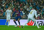 FC Barcelona's defense Nelson Semedo during La Liga match. Mar 01, 2020. (ALTERPHOTOS/Manu R.B.)