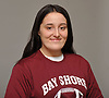 Cayleigh Kunnmann, a senior at Bay Shore High School and linebacker on the varsity football team, poses for a portrait at her home on Tuesday, Jan. 30, 2018. She has committed to playing women's rugby for LIU Post after graduation.