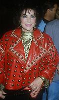 Elizabeth Taylor, 1992 Photo By Michael Ferguson/PHOTOlink