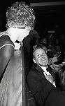 Bob Fosse and Juliet Prowse Attending a Theatre Benefit party on November 1, 1981 in New York City.