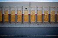 Images of commercial real estate gone vacant in Denver, Colo. during the Global Economic Downturn.  Although Denver's real estate market remains among the strongest in the nation, the impact of the recession is still widely felt with hundreds of businesses cutting back or folding in recent months.  These images focus on Target, Albertson's Grocery, and Boston Market.