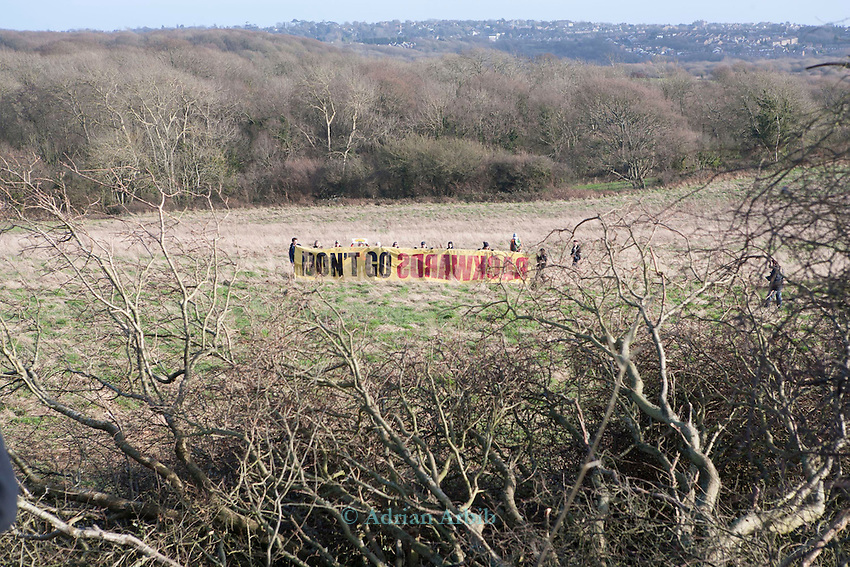 On Sunday 27 January, senior staff from six major environment and conservation groups will visit the Combe Haven valley, site of the planned Bexhill to Hastings Link Road.<br /> <br /> The heads of Greenpeace, Friends of the Earth, The Wildlife Trusts and the Campaign for Better Transport will join with senior colleagues from RSPB and Campaign to Protect Rural England (CPRE) to see first-hand the area threatened by the planned road and the impact contractors works have already caused. They will also meet protestors taking part in the high profile campaign against its construction and highlight the impacts and threats from the Government's forthcoming roads strategy.