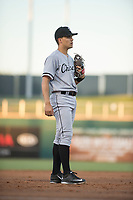 AZL White Sox third baseman Micah Coffey (15) during an Arizona League game against the AZL Indians 1 at Goodyear Ballpark on June 20, 2018 in Goodyear, Arizona. AZL Indians 1 defeated AZL White Sox 8-7. (Zachary Lucy/Four Seam Images)