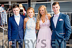 Pictured at the Ring of Kerry Hotel on Saturday for the Colaiste na Sceilge Debs Ball were l-r; Sean O'Donoghue, Ciara Sugrue, Rachel O'Connell & Dilan O'Donoghue.