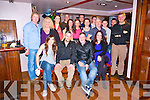 Dylan O'Shea, Cluain Ard Tralee celebrates his 18th Birthday with family and friends at The Abbey Inn on Saturday