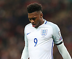 Daniel Sturridge of England during the FIFA World Cup Qualifying Group F match at Wembley Stadium, London. Picture date: November 11th, 2016. Pic David Klein/Sportimage