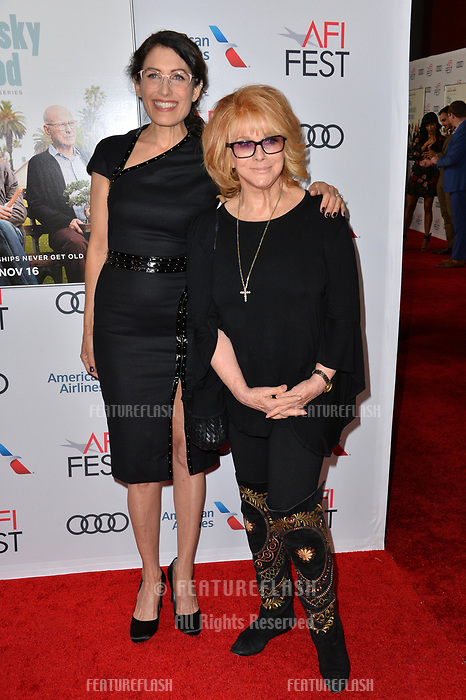 LOS ANGELES, CA. November 10, 2018: Lisa Edelstein &amp; Ann-Margret at the AFI Fest 2018 world premiere of &quot;The Kominsky Method&quot; at the TCL Chinese Theatre.<br /> Picture: Paul Smith/Featureflash