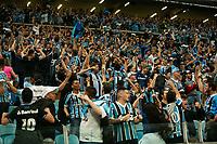 Porto Alegre (RS), 02/10/2019 - Libertadores / Grêmio x Flamengo -  torcida  do Grêmio comemora o gol durante a partida contra o Flamengo válido pela semifinal da Libertadores na Arena do Grêmio em Porto Alegre nesta quarta-feira, 02. (Foto: Robson Alves/Brazil Photo Press/Agencia O Globo) Esportes