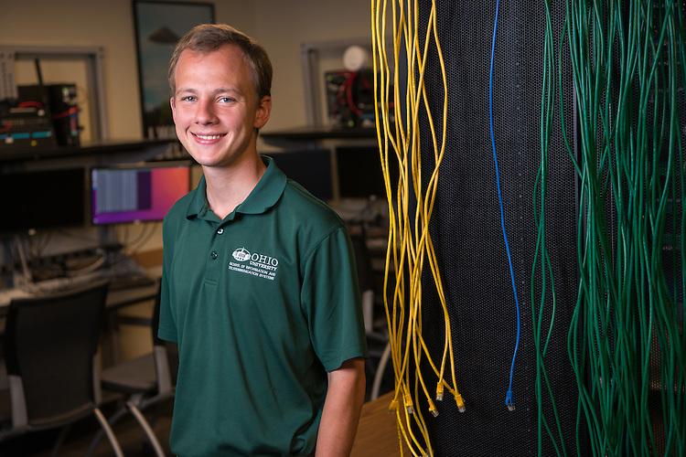 Ryan Kemper. Communications, ITS, Student, Undergraduate Admissions, Voices of OHIO