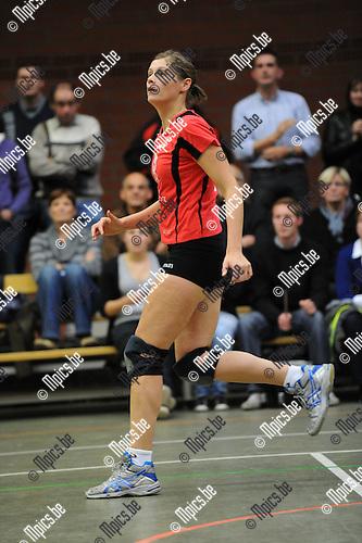 2010-10-16 / Volleybal / seizoen 2010-2011 / VBC Zandhoven / Stefanie Delaet..Foto: Mpics