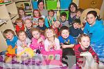 Enjoying National Pyjama day at the childcare centre in Killorglin Family Resource Centre. .Front L-R Liam O'Connor, Chloe Quentin, Grace Naughton, Tegan Kingdon, Mattie Howarth, Oscar Hanley and Tara O'Sullivan (Staff). .Middle L-R Oran O'Sullivan, Eva Spain, Eoghan O'Sullivan, Charlie Doyle and Callum O'Connor. .Back L-R Niamh O'Sullivan, Emma O'Sullivan, Helena O'Sullivan (Childcare staff), Dan O'Dwyer,  Mikolaj Libera, Nathan Coffey and Sarah O'Brien (childcare staff).