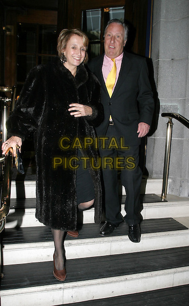 FREDERICK FORSYTHE.Lady Annabel Goldsmith launches her book: Annabel: An Unconventional Life with a party at The Ritz Hotel.10 March 2004.full length, full-length.www.capitalpictures.com.sales@capitalpictures.com.© Capital Pictures.