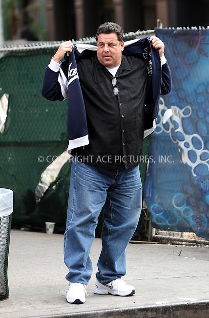 WWW.ACEPIXS.COM....October 17 2012, New York City....Actor Steve Schirripa walks around Chelsea on October 17 2012 in  New York City....By Line: Zelig Shaul/ACE Pictures......ACE Pictures, Inc...tel: 646 769 0430..Email: info@acepixs.com..www.acepixs.com
