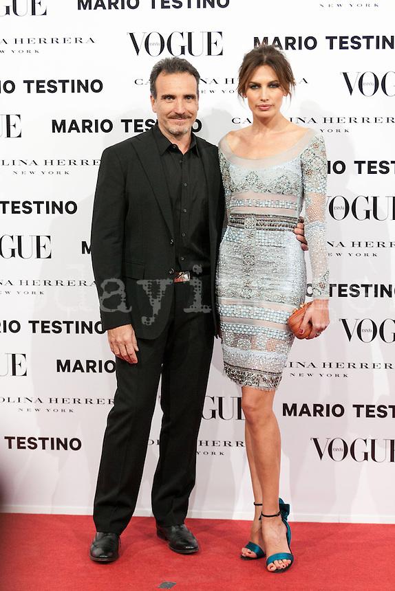 Nieves Alvarez at Vogue December Issue Mario Testino Party