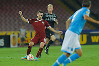 Ladislav Krejci   during the Europa League   soccer match between SSC Napoli and Sparta Praha  at  the San Paolo   stadium in Naples  Italy , september 18 , 2014