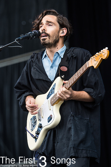 Taylor Rice of Local Natives performs at the Outside Lands Music & Art Festival at Golden Gate Park in San Francisco, California.