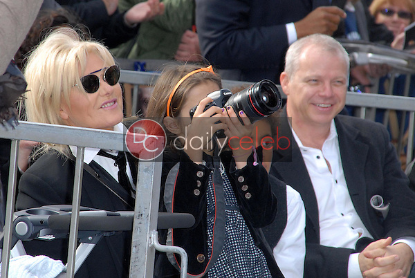 Deborra-Lee Furness and daughter<br /> at the Hugh Jackman Star on the Hollywood Walk of Fame Ceremony, Hollywood, CA 12-13-12<br /> David Edwards/DailyCeleb.com 818-249-4998