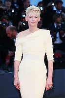 Tilda Swinton attends the red carpet for the premiere of the movie 'A Bigger Splash' during the 72nd Venice Film Festival at the Palazzo Del Cinema in Venice, Italy, September 6, 2015. <br /> UPDATE IMAGES PRESS/Stephen Richie