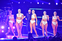 MIAMI, FL - NOVEMBER 11: Pitbull performs at AmericanAirlines Arena on November 11, 2017 in Miami, Florida.  <br /> CAP/MPI10<br /> &copy;MPI10/Capital Pictures