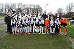 2016-01-30 / Voetbal / Seizoen 2015-2016 / svbo / U17 reeks A niv 2 Belgica Edegem B<br /> <br /> Foto: Mpics.be
