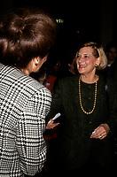 Andree Simard la conjointe du Premier ministre Robert Bourassa, entre 1991 et 1995<br /> <br /> <br /> PHOTO : &copy; Agence Quebec Presse