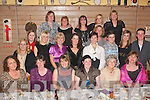 DANCING QUEENS: Parents and teachers of Rinceoiri Na Riochta celebrated their annual Christmas party in Stokers lodge bar/restaurant Clounalour, Tralee last Friday night with a bonus as 10 of their dancers have qualified for the World championships in Philadelphia (USA) next April 2009.   Copyright Kerry's Eye 2008