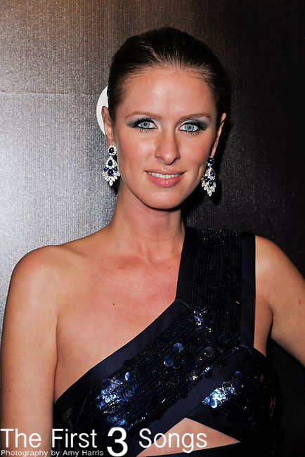Nicky Hilton attends the 2012 Weinstein Company Golden Globes After Party at The Beverly Hilton Hotel in Beverly Hills, CA on January 15, 2012.
