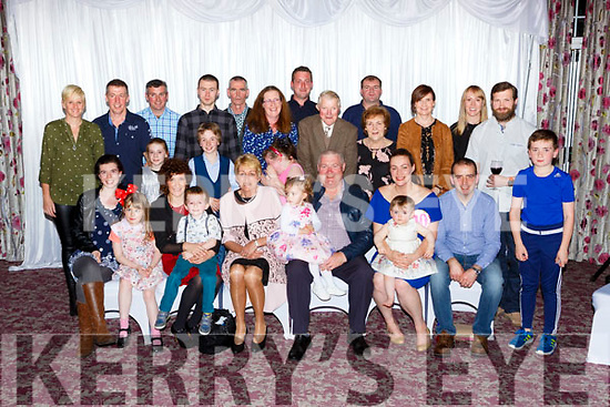 Connie Daly Two Mile school celebrated his 50th birthday and his daughter Christine 30th birthday with thier family and friends in the Killarney Avenue Hotel on Saturday night