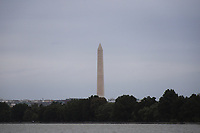 WASHINGTON DC, EUA, 06.10.2019 - TURISMO-WASHINGTON DC - Monumento de Washington, visto do Rio Potomac, na cidade de Washington DC, capital dos Estados Unidos, neste domingo, 6. (Foto Charles Sholl/Brazil Photo Press)