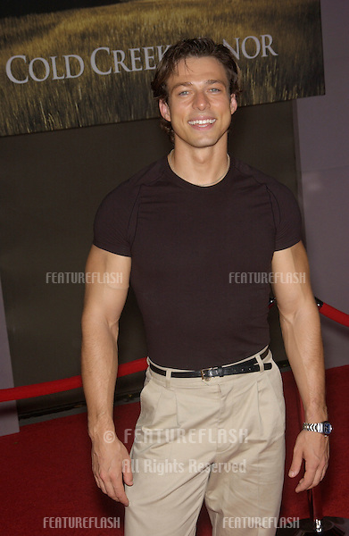 Actor CHRIS SHOWERMAN at the world premiere, in Hollywood, of Cold Creek Manor..Sept 17, 2003