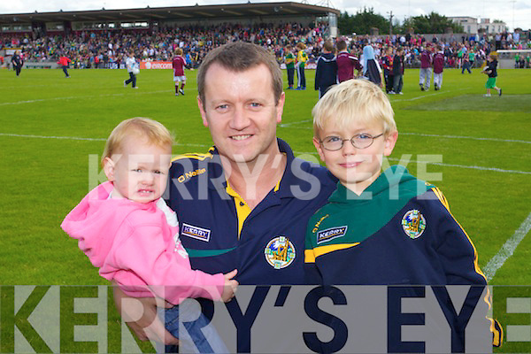 Emily Connor and Cormac O'Flynn from Castleisland pictured at the Westmeath v Kerry match in Mullingar on Sunday..