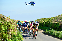 Picture by SWpix.com - 04/05/2018 - Cycling - 2018 Tour de Yorkshire - Stage 2: Barnsley to Ilkley  Yorkshire, England - The peloton.