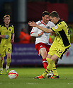 Craig Reid of Stevenage is tackled by Kevin McDonald of Sheffield United. - Stevenage v Sheffield United - npower League 1 Play-off semi-final 1st leg - Lamex Stadium, Stevenage  - 11th May, 2012. © Kevin Coleman 2012