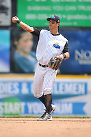 Trenton Thunder infielder Rob Refsnyder (24) during game against the Erie Sea Wolves at ARM & HAMMER Park on May 15, 2014 in Trenton, NJ.  Erie defeated Trenton 4-2.  (Tomasso DeRosa/Four Seam Images)