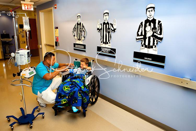 Photography at Levine Children's Hospital in Charlotte, North Carolina.