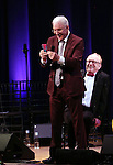 Steve Martin and Peter Asher  on stage during 'Bright Star' In Concert at Town Hall on December 12, 2016 in New York City.