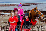 Sea Horse<br /> --------------<br /> at the Ballyheigue beach races last Sunday Dec 27th were L-R  Millie, Michael &amp; Ruby Lawlor from Causeway with Annie Dobaj holding ' Cuddles ' the pony.