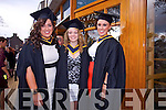 Health, Leisure and Massage.Graduates  Claire Godley (Kilmoyley), Desiree Wijnmaalen (Holland), Deirdre McCarthy (Lisselton).at the Institute of Technology Tralee at the Autumn Confirming of Awards Ceremony at the Brandon Hotel on Friday