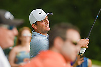 Francesco Molinari (ITA) watches his tee shot on 3 during round 4 of the 2019 Charles Schwab Challenge, Colonial Country Club, Ft. Worth, Texas,  USA. 5/26/2019.<br /> Picture: Golffile | Ken Murray<br /> <br /> All photo usage must carry mandatory copyright credit (© Golffile | Ken Murray)