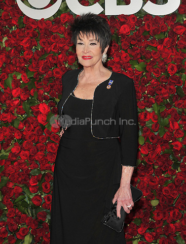 NEW YORK, NY - JUNE 12: Chita Rivera at the 70th Annual Tony Awards at The Beacon Theatre on June 12, 2016 in New York City. Credit: John Palmer/MediaPunch
