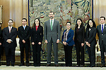 Prince Felipe of Spain during a meeting with a group of Hispanic leaders in the United States.December 10 ,2012. (ALTERPHOTOS/Acero)