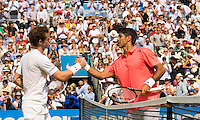 ANDY MURRAY (GBR), FERNANDO VERDASCO (ESP)<br /> <br /> TENNIS - AEGON CHAMPIONSHIPS -  2015 -  QUEENS CLUB - LONDON -  ATP 500- 2015  - ENGLAND - UNITED KINGDOM<br /> <br /> &copy; AMN IMAGES