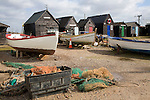 Southwold harbour, Suffolk, England