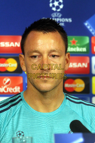 John Terry attends Chelsea's press conference at their Cobham training ground.<br /> CAP/DS<br /> &copy;DS/Capital Pictures