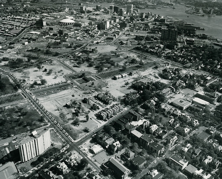 UNDATED..Redevelopment.E Ghent South (A-1-1)..Aerial View looking South before construction...NEG#.NRHA#..