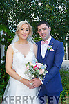 Edel Broderick and Adrian Kenny were married at St. John's Church Tralee by Fr. Piote on Saturday 5th August 2017 with a reception at Ballygarry House Hotel