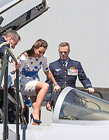 Kate, Duchess of Cambridge & Prince William visit RAF Amberley - Australia