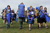 27 juillet 2011, 22e?me Jamboree Scout Mondial a? Rinkaby, Kristianstad, Sue?de, Photo © Jean-Pierre POUTEAU 2011
