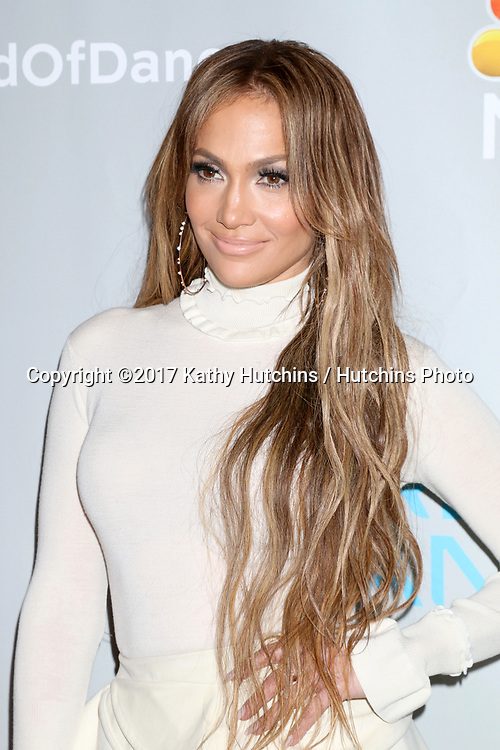 """LOS ANGELES - JAN 25:  Jennifer Lopez at the """"World of Dance"""" Photo Call at Universal Studios on January 25, 2017 in Universal City, CA"""