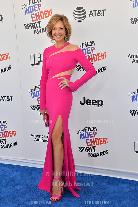 Allison Janney at the 2018 Film Independent Spirit Awards on the beach in Santa Monica, USA 03 March 2018<br /> Picture: Paul Smith/Featureflash/SilverHub 0208 004 5359 sales@silverhubmedia.com